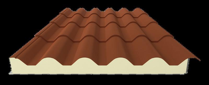 Painel Cobertura Telha topcover-tile